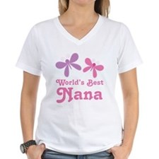 Nana (Worlds Best) Butterflies Shirt