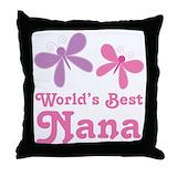 Best nana Throw Pillows