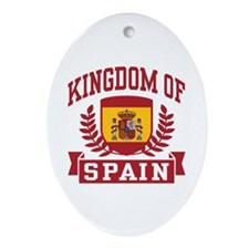 Kingdom of Spain Ornament (Oval)