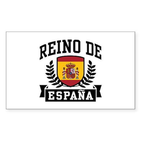 Reino De Espana Sticker (Rectangle)
