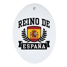 Reino De Espana Ornament (Oval)