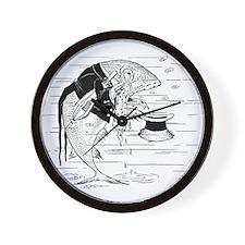 Crying Codfish Wall Clock