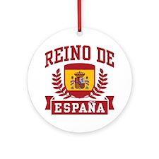 Reino De Espana Ornament (Round)