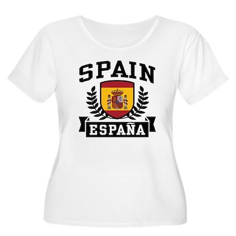 Spain Espana Women's Plus Size Scoop Neck T-Shirt