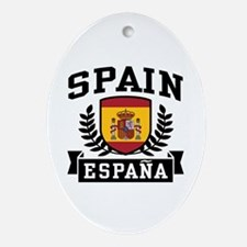 Spain Espana Ornament (Oval)