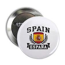 """Spain Espana 2.25"""" Button"""