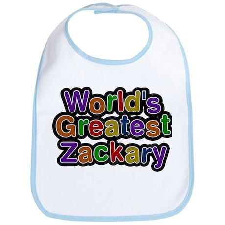 Worlds Greatest Zackary Baby Bib