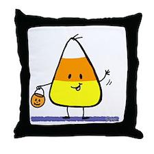 Little Candy Corn Throw Pillow