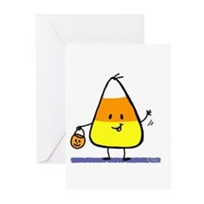 Little Candy Corn Greeting Cards (Pk of 10)