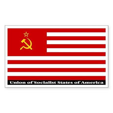 USSA Sticker (Rectangle)