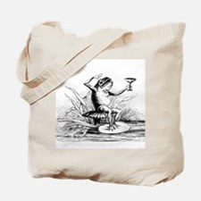 Drinking Frog Tote Bag