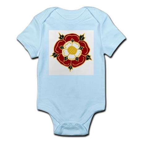 Tudor Rose Infant Creeper