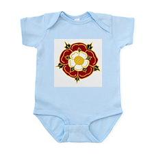Tudor Rose Infant Creeper