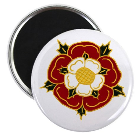 "Tudor Rose 2.25"" Magnet (100 pack)"
