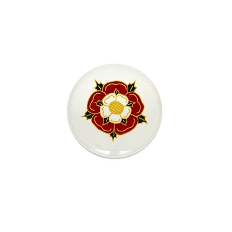 Tudor Rose Mini Button (10 pack)