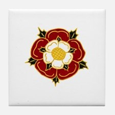Tudor Rose Tile Coaster