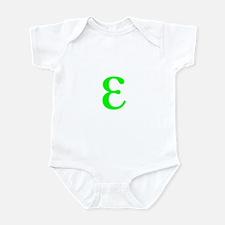 Cute Epsilon math Infant Bodysuit