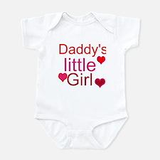 Cute Daddys little girl Infant Bodysuit