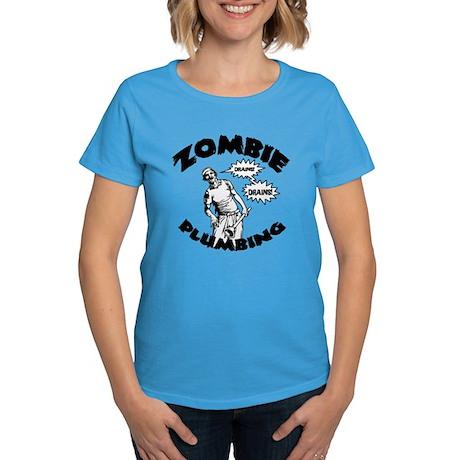 Zombie Plumbing Women's Dark T-Shirt