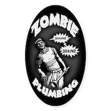 Zombie Plumbing Decal