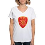 Fallon Fire Department Women's V-Neck T-Shirt