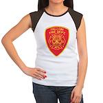 Fallon Fire Department Women's Cap Sleeve T-Shirt