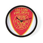 Fallon Fire Department Wall Clock