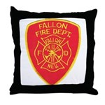 Fallon Fire Department Throw Pillow