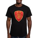 Fallon Fire Department Men's Fitted T-Shirt (dark)