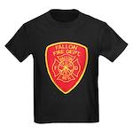Fallon Fire Department Kids Dark T-Shirt