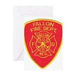 Fallon Fire Department Greeting Card