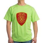 Fallon Fire Department Green T-Shirt