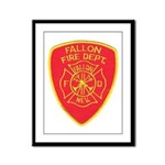 Fallon Fire Department Framed Panel Print
