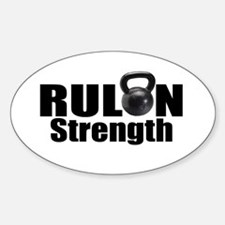 Rulon Strength Sticker (Oval)
