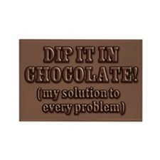 Dip It In Chocolate Rectangle Magnet