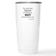 Drunk on Writing Stainless Steel Travel Mug