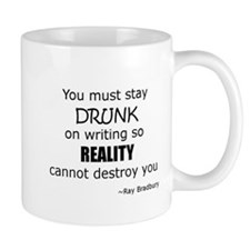 Drunk on Writing Mug