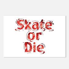 Skate or Die Postcards (Package of 8)