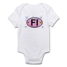 Fire Island - Oval Design Infant Bodysuit