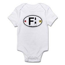 Fire Island - Oval Design Infant Bodysuit