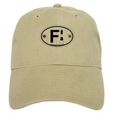 Fire Island - Oval Design Baseball Cap