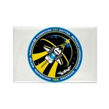 STS 131 Rectangle Magnet