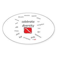 Celebrate diversity Decal