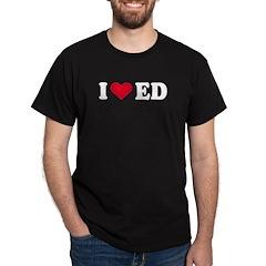 I Love ED - Black T-Shirt
