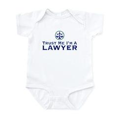 Trust Me I'm a Lawyer Infant Creeper