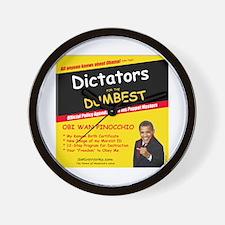 Dictators For Dumbest Wall Clock