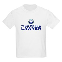 Trust Me I'm a Lawyer Kids T-Shirt