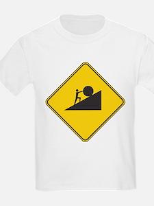 21st Century Sisyphus Kids T-Shirt