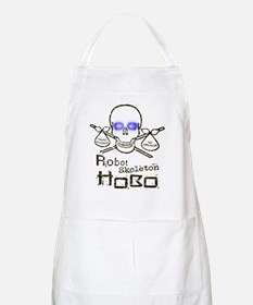 Robot Skeleton Hobo Apron