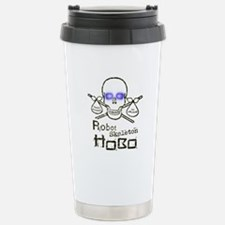 Robot Skeleton Hobo Stainless Steel Travel Mug